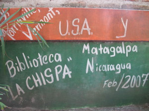 Outside of La Chispa.