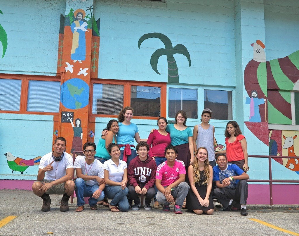 Our Nicaraguan visitors & some local friends during the Fall 2014 trip.