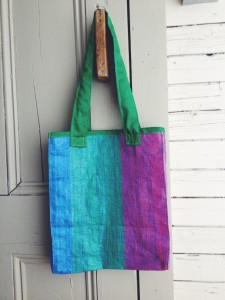 Hand-Made Tote, $4.