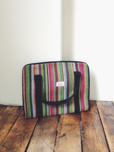 Hand-Woven Tablet/Laptop Case, $20.