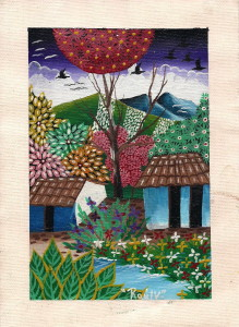 Painting by Nicaraguan artist
